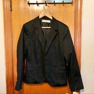 Zara basic black women's blazer, size XL